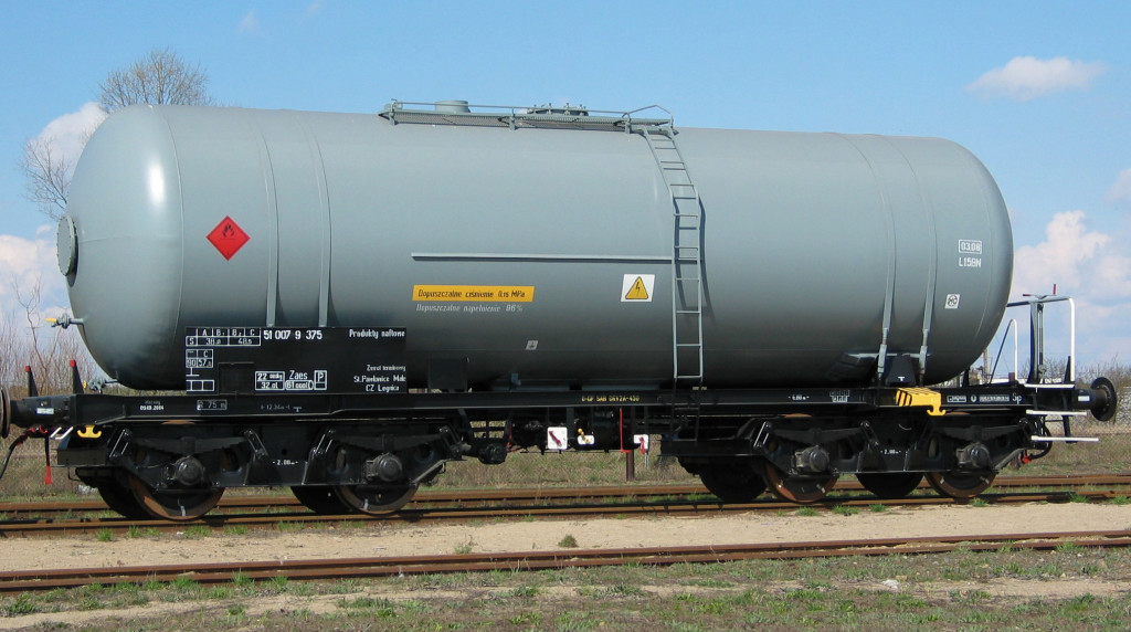 Wagon cysterna 406R produkty naftowe