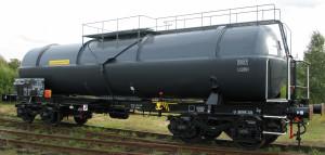 Wagon cysterna 434R/P fosfor biały pod wodą