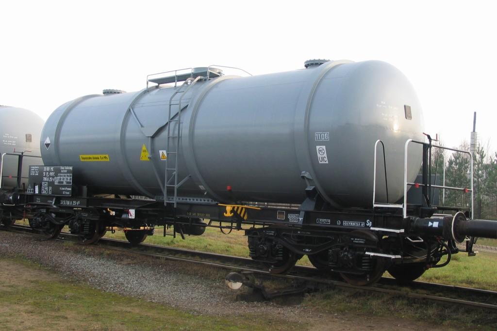 Wagon cysterna 438R kwas fosforowy