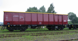 Wagon węglarka 437Wa