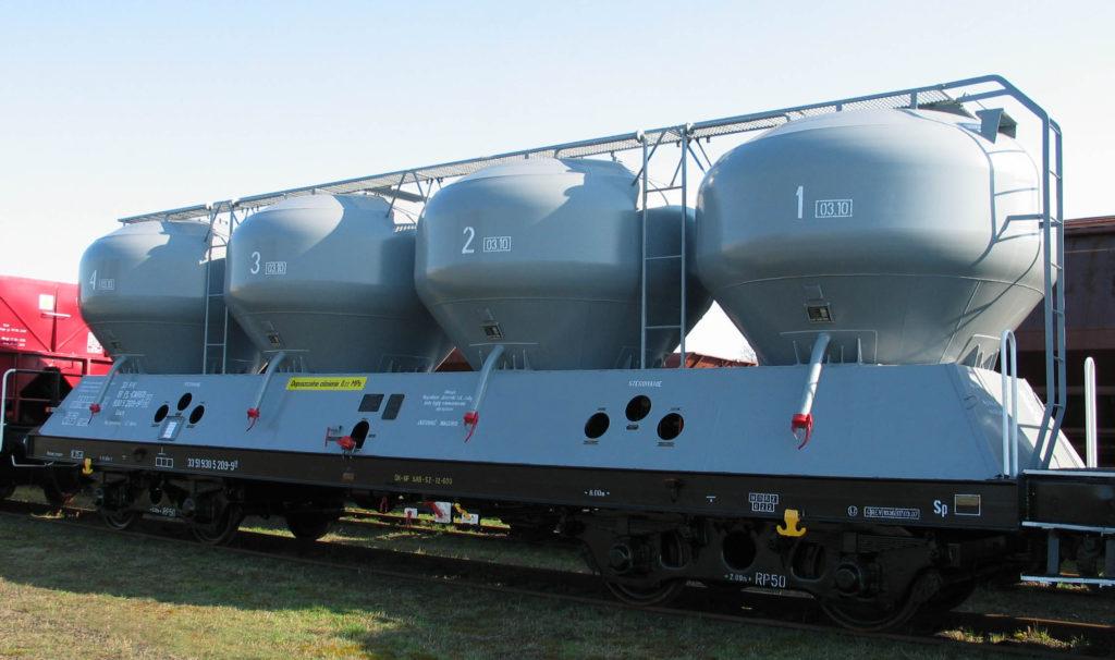 Wagon specjalny 451.1M po modernizacji